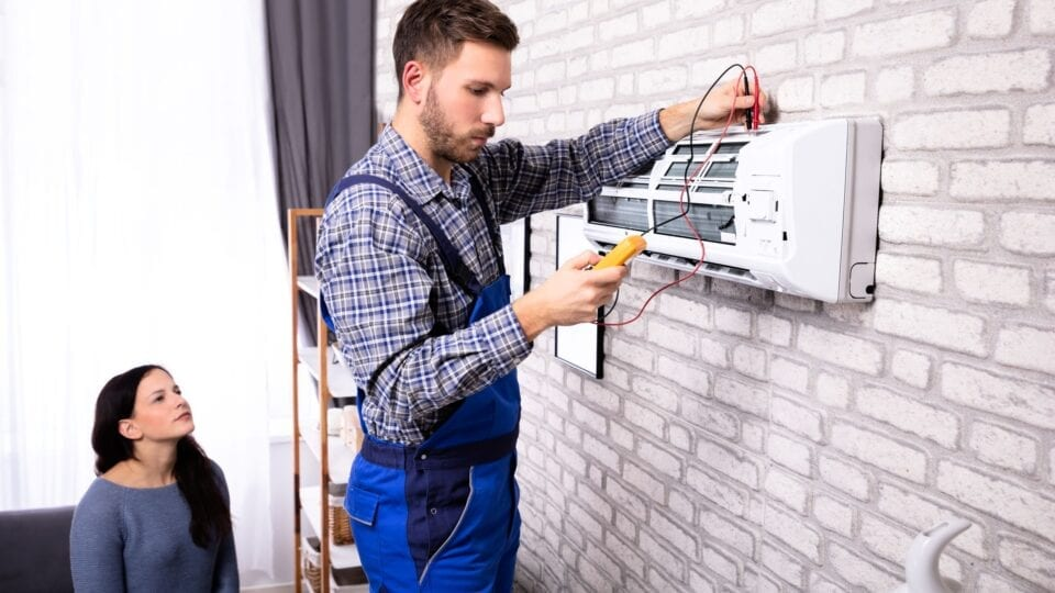 Home heating system installation
